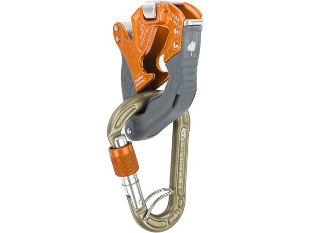 Climbing Technology Click-Up + Zestaw asekuracyjny, orange